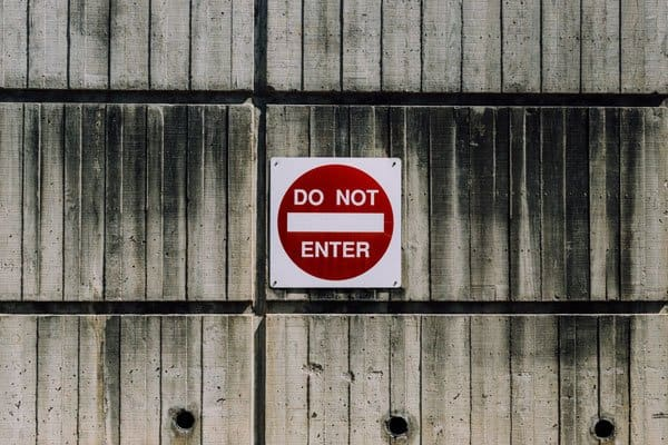 stop bots to access your site