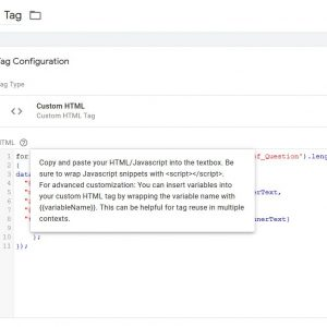 FAQ schema implementation with GTM